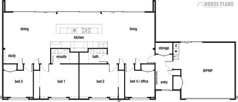 Low cost modern house plan   HOUSE PLANS NEW ZEALAND LTD
