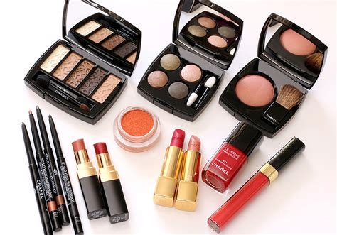 Makeup Chanel Ori chanel fall 2015 collection les automnales look