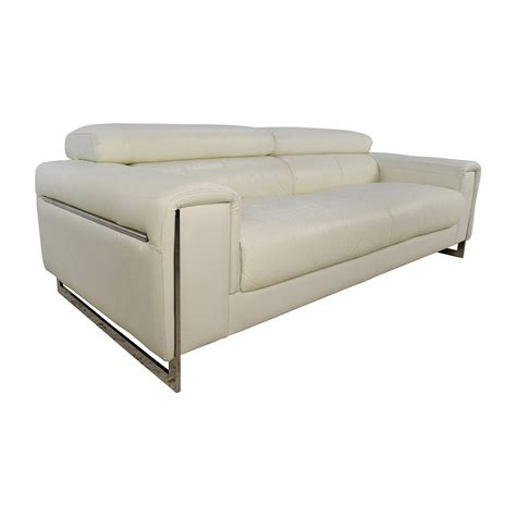 Soho Leather Sofa 64 Jnm J M Soho White Leather Sofa Sofas