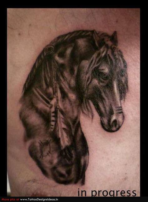 tattoo designs horse tattoos