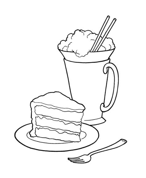 ice cream soda coloring pages bluebonkers birthday sweets and treats coloring page