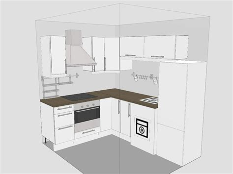 design for kitchen cabinets stunning small kitchen design layout with l shape kitchen cabinet and chrome custom range hood