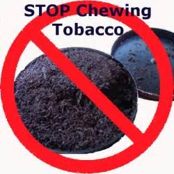 stop chewing stop chewing tobacco