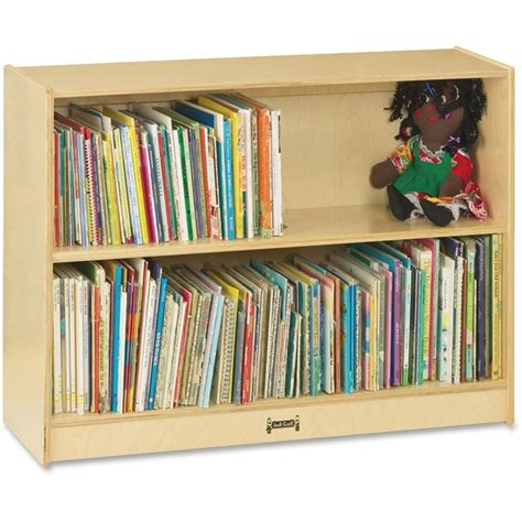jonti craft bookcase 36 quot high 2 adjustable shelves rta