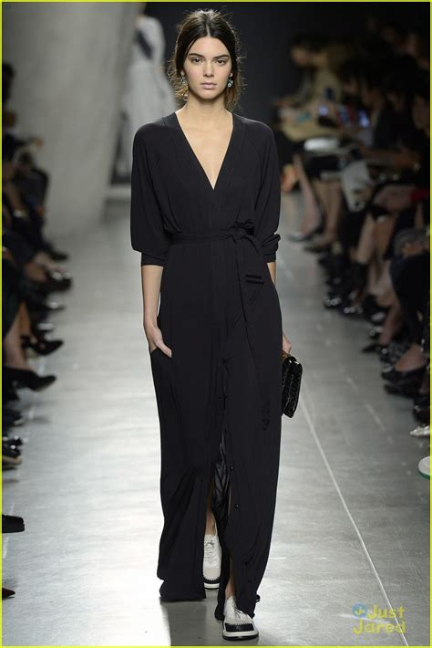 kendall jenner fashion week 2014 kendall jenner rocks totally different looks at three
