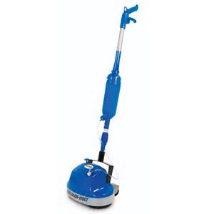 Hardwood Floor Scrubber The Floor Scrubber With Spray Applicator Hammacher Schlemmer
