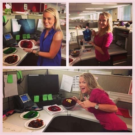 Office Supplies In Jello Pin By Mower On Prank Ideas
