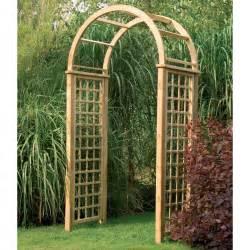Garden Arches Forest Garden Florence Arch Fsc Treated Timber Trellis