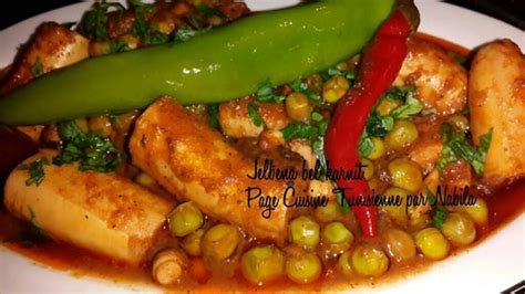 recette cuisine tunisienne jilbena bil karnit recette tunisienne tunisme
