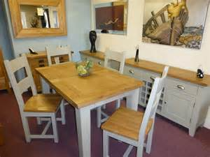 Painted Dining Table And Chairs Wooden Dining Room Tables Rustic