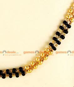 Berapa Pinset chandramukhi mangalsutra pattern2 jewels of maharashtra jewellery and black