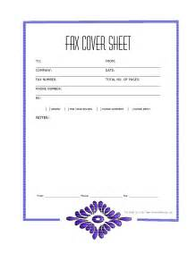 free fax cover sheet template best business template