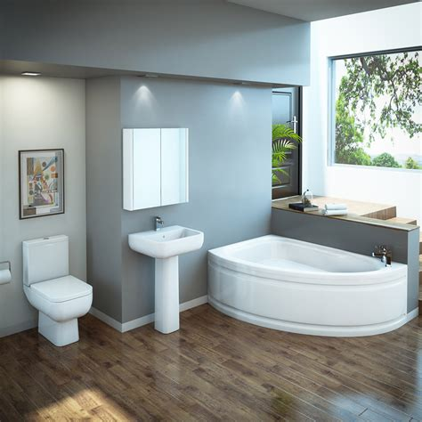 what is a on suite bathroom rak series 600 bathroom suite with orlando corner bath