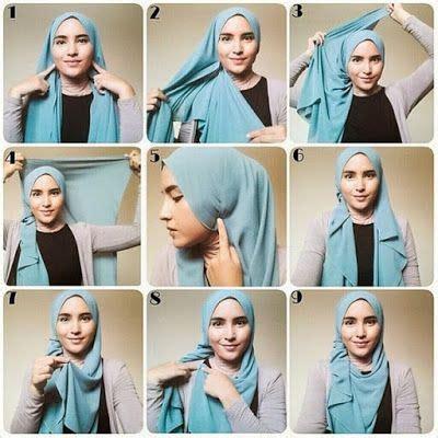 tutorial jilbab paris corak 25 tutorial hijab segi empat praktis cara memakai jilbab