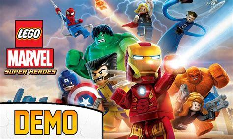 tutorial lego marvel superheroes lego marvel super heroes demo os vingadores e muito