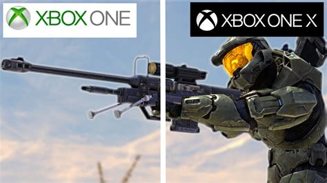 Painting Xbox One X by Xbox One X Vs Xbox One Graphics Comparison Halo 3