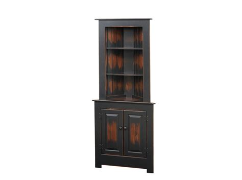 Hutch Dining Room by Large Corner Cabinet