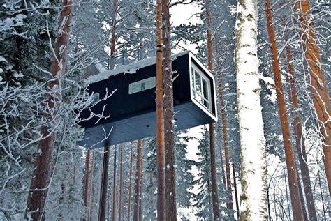 tree hotel sweden swedish lapland adventure treehotel sorbyn lodge
