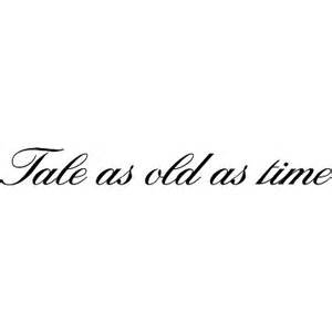 sterling script fonts com tale as old as time polyvore