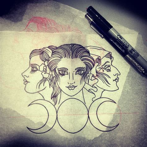 triple goddess tattoo designs 1000 ideas about goddess on goddess