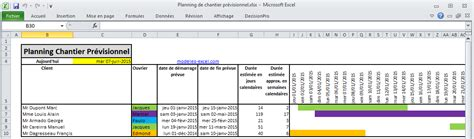 Calendrier Budgetaire 2015 Planning Mod 232 Les Excel Gestion Finance Planification