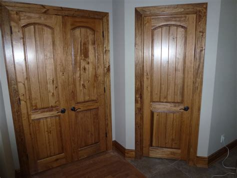 Handmade Interior Doors - custom wood interior door trim cutting edge construction