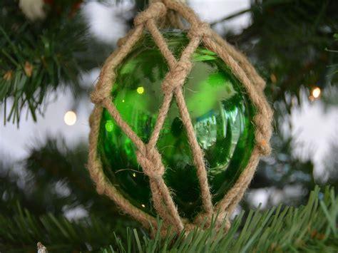 buy glass rope green fishing float christmas tree