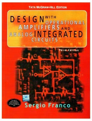 design with operational lifiers and analog integrated circuits solutions manual free downloads design with operational lifiers and analog integrated circuits sergio franco