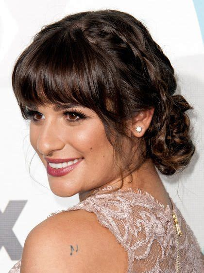 bangs hairstyles make up 10 best updos with bangs images on pinterest hairstyles