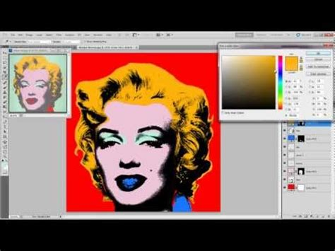tutorial warhol photoshop cs5 photoshop tutorial how to make a pop art portrait from