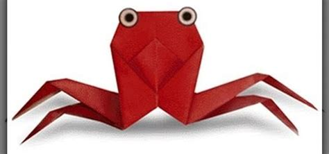 3d Origami Beginners - how to make an origami crab for beginners 171 origami