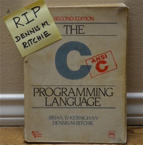 early and career of tsung dao edition books dennis ritchie of c programming language