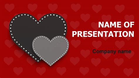 forever love powerpoint template for impressive