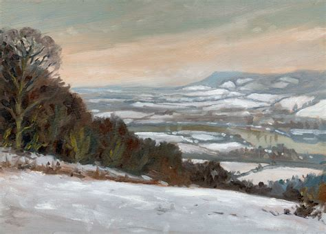 plein air paintings from paint snow hill featured in may snow in london and kent 171 rob adams a painter s blog