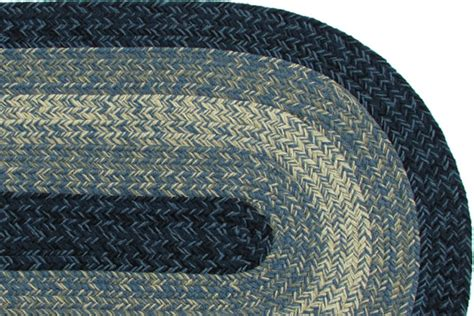 rugs maine maine blue braided rug
