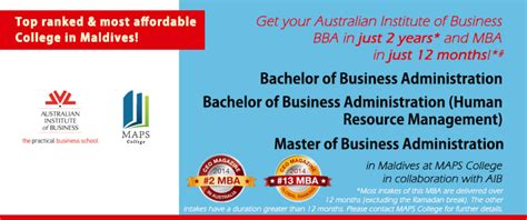 Aib Mba Course Fees by Aib S Bachelor Of Business Administration Human Resource