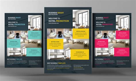hotel promotion flyer template flyer templates on