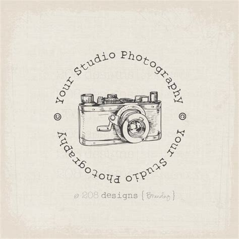 watermark templates for photoshop premade copyright watermark photography vintage camera