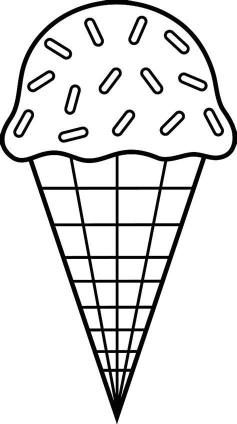 colouring pictures of ice cream cones six ice cream cone coloring pages bulk color
