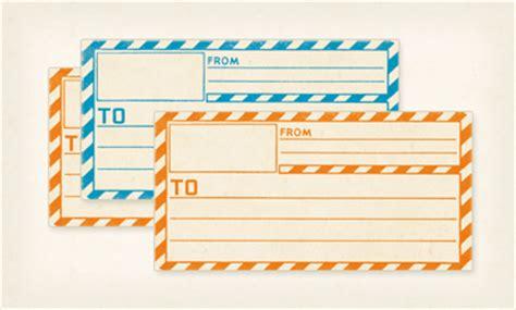 printable address labels vintage printable vintage mailing labels how about orange