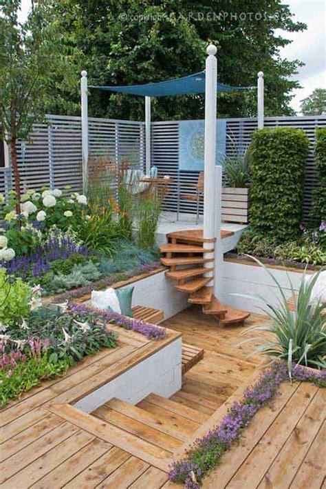 impressive sunken design ideas   garden  yard