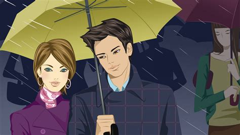 young couple wallpaper hd full hd wallpaper young couple heavy rain together shadow