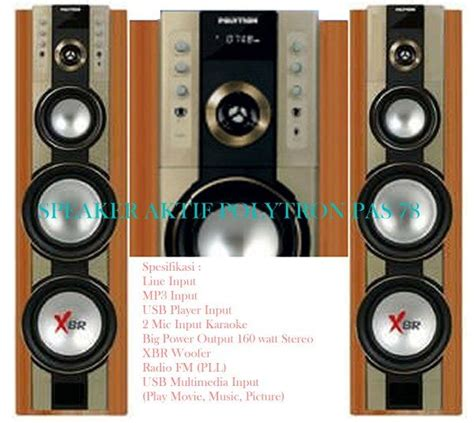 Speaker Aktif Polytron Pas 79 Bluetooth speaker aktif polytron pas 78 coklat tehnik dasar setting sound systems speakers