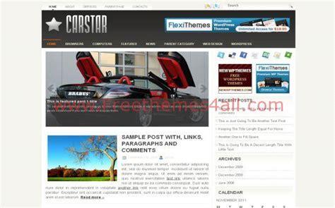 theme wordpress jquery chrome cars jquery wordpress theme template free download