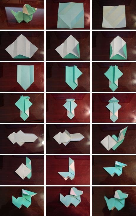 Cool Things To Fold Out Of Paper - how to fold origami paper puppy step by step diy