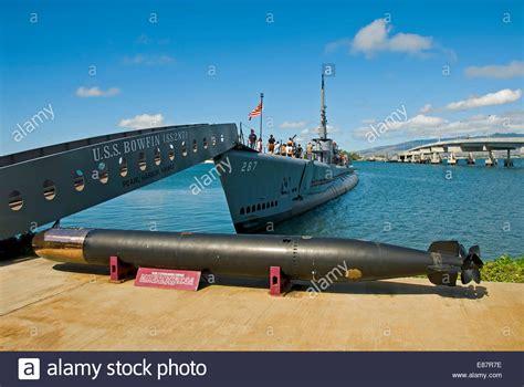 pearl harbor port uss bowfin submarine pearl harbour oahu hawaii united