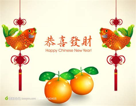 new year orange wallpaper 恭喜发财新年贺卡 素材公社 tooopen
