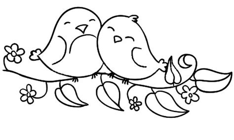love birds pages adult coloring pages