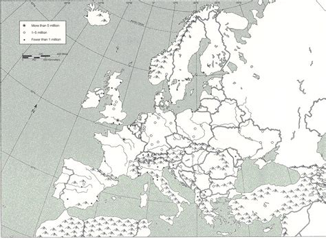 physical map of europe blank blank map of asia and africa