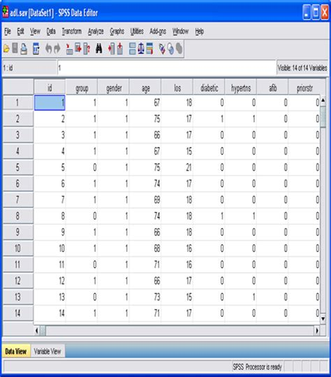 online tutorial for spss spss course opening an existing data file in spss